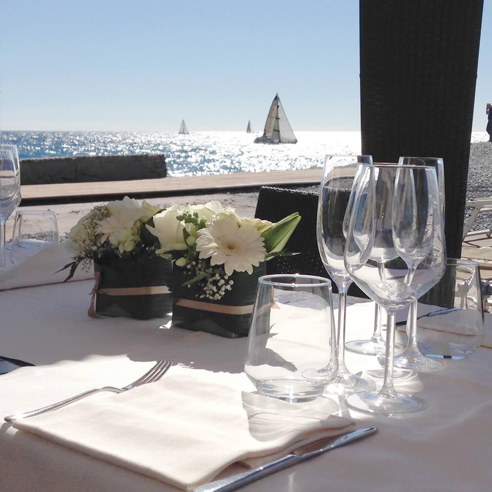 Tavolo e regata